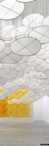 Jacob Hashimoto, rice-paper kites
